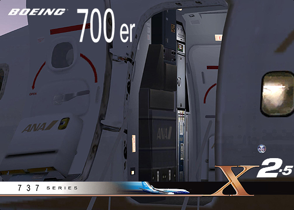 Advanced boeing 737 700 er x2 5 fsx ariane design by for 737 door design