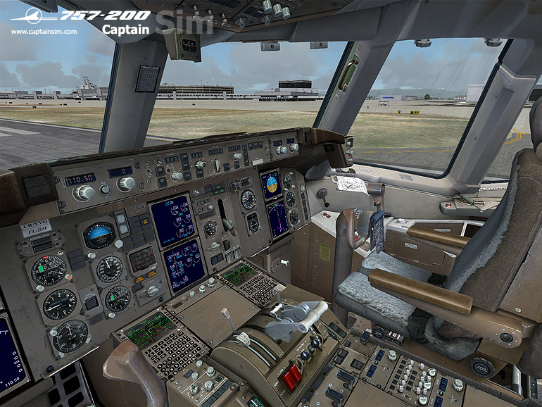 757-200 Captain Base Pack (FSX)