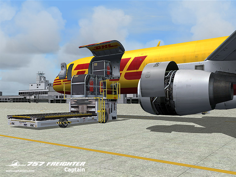 757 Freighter Expansion Model (FS9)