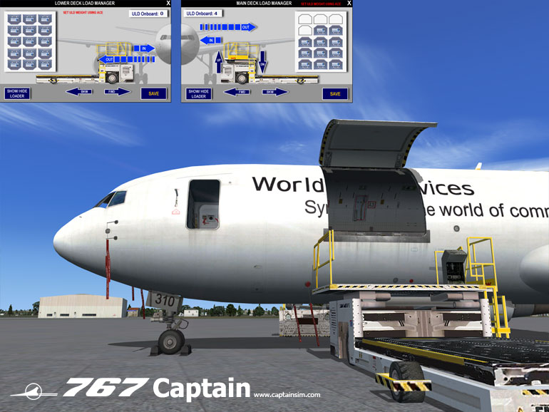Fsx Boeing 767 Freighter Expansion - - by Captainsim - Buy from Surclaro Flight