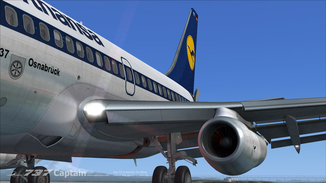 Boeing 737 200 Captain Fsx Fsx Aircraft Airliners Fsx