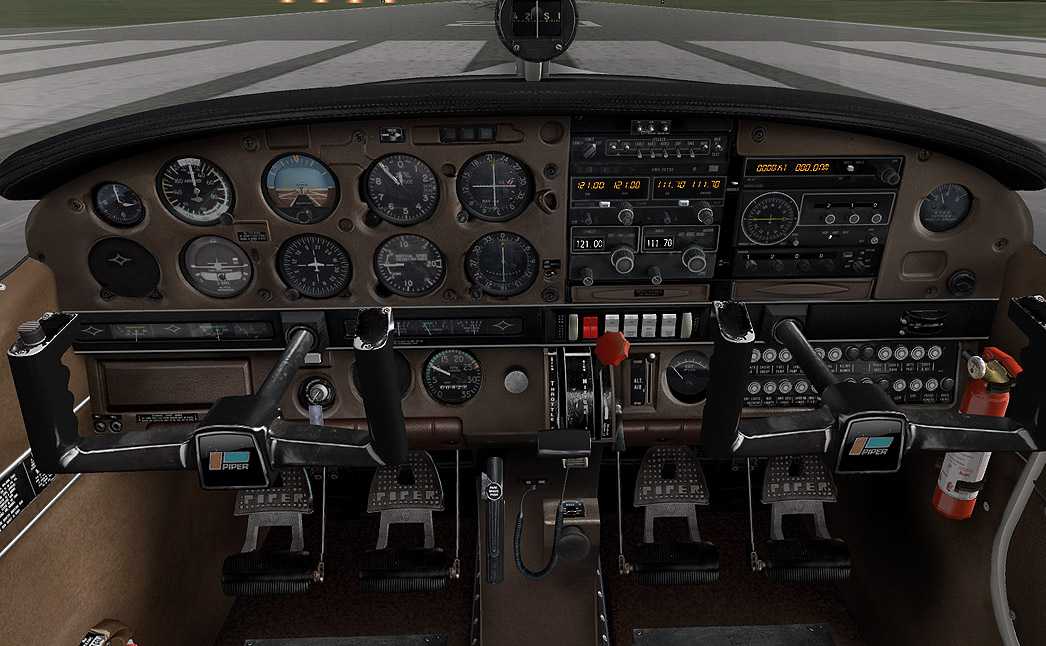 Toggle Switch Cover >> Pa28 Archer Ii for Xplane - Carenado - by Carenado - Buy from Surclaro Flight