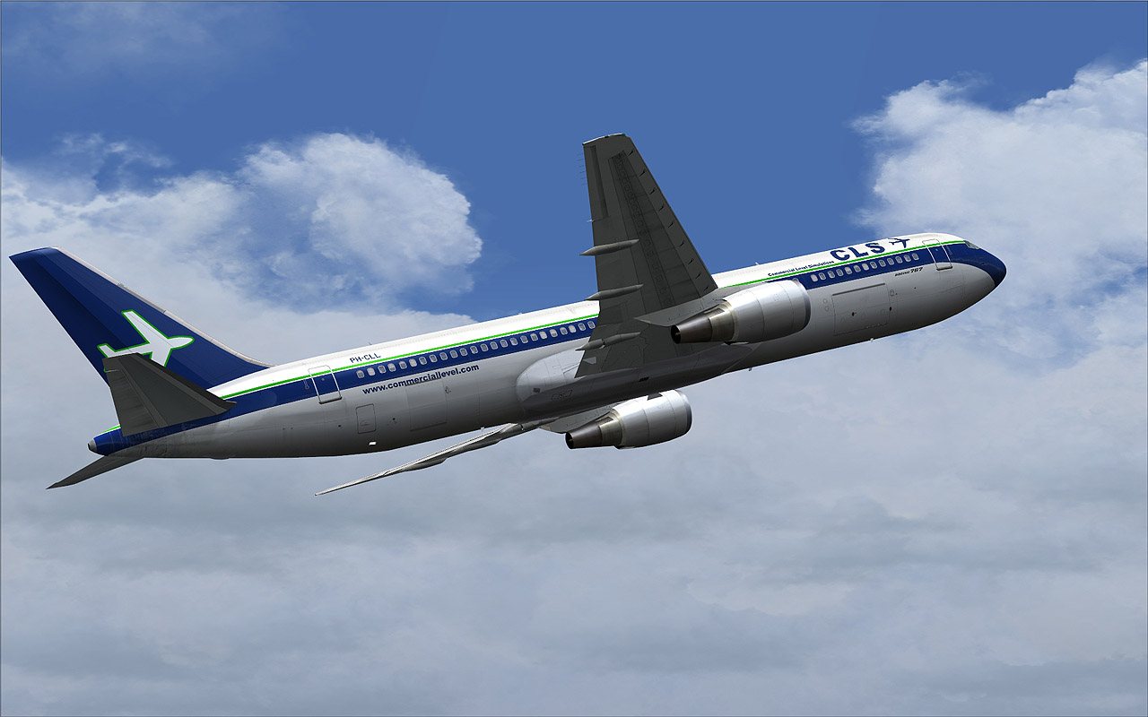 cls boeing 767 fsx aircraft airliners fsx add ons by