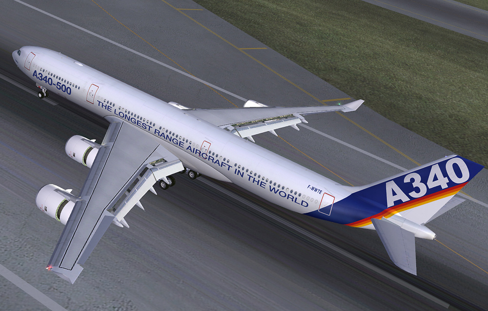 FS2004 Airbus A340-500-600 Combi Pack