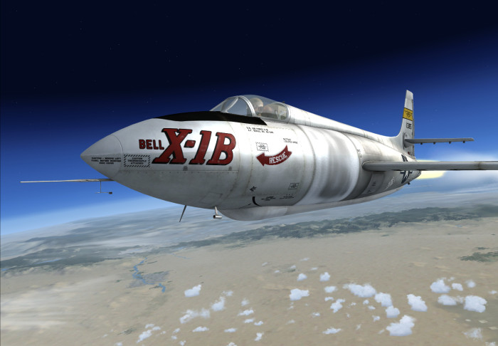 Bell X-1 Second Generation FSX Package
