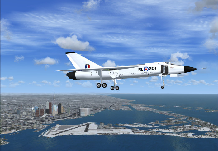 cf 105 avro arrow add on package fsx fs2004 fsx military. Black Bedroom Furniture Sets. Home Design Ideas