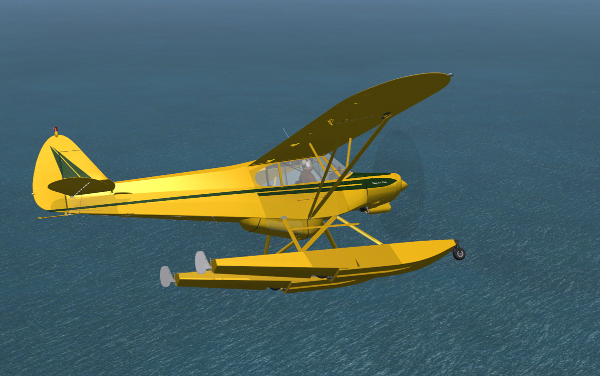 Fsx Super Cub Deluxe Ifr Amphibious Flight Replicas By
