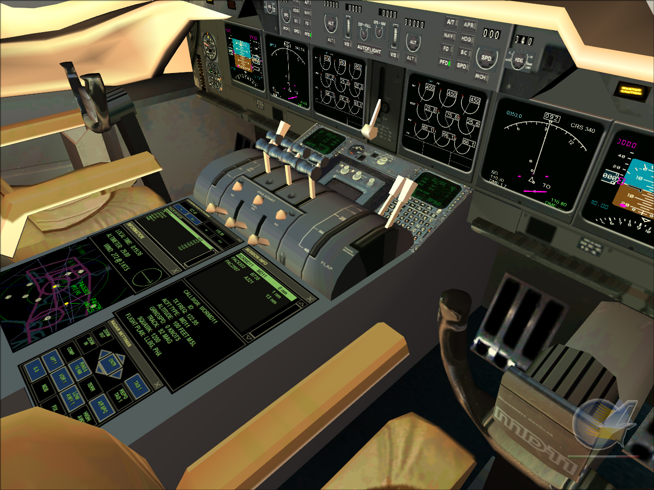 Fly The MD-11 FSX FS2004