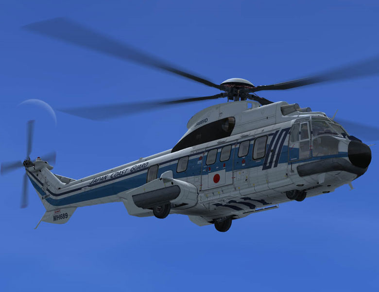 Eurocopter As332 L2 Super Puma Mkii Fsx Helicopter Fsx