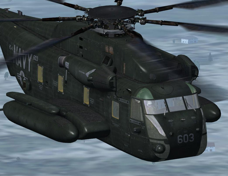 sikorsky ch-53e super stallion - helicopter fsx