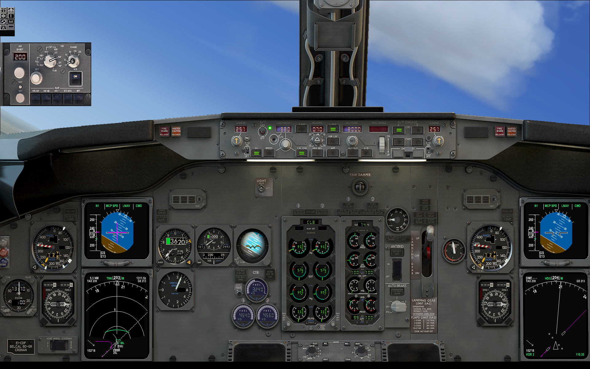 737 Pilot In Command Evolution Fsx Fsx Aircraft
