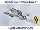 North American P-51 Fighter Leader II FS2004