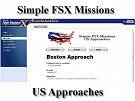 Simple FSX Missions US Approaches
