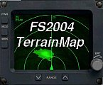 DBS Terrain Map for Flight Simulator 2004
