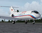 DBS/Simlandmarks Yak-40 Aircraft for FSX