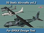 50 Static Aircrafts vol.2