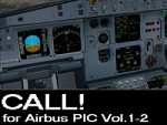CALL! for Airbus PIC Vol1 and Vol2 in one package