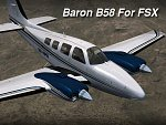 Baron B58 for FSX
