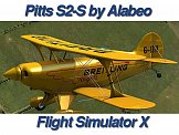 ALABEO PITTS S-2S FOR FSX