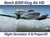 Beech King Air B200 HD FSX Prepar3D