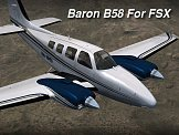 Baron B58 for FSX/P3D