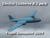 English Electric Canberra B.1 pack for FS9/FS2004