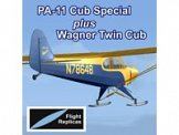 FSX Flight Replicas PA-11 Cub Special