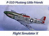 P-51D Mustang Little Friends FSX