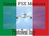 Photo Real Italy Simple FSX Missions