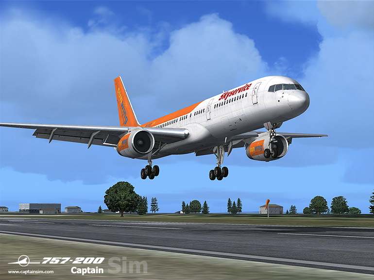 757-200 Captain Base Pack (FS9)