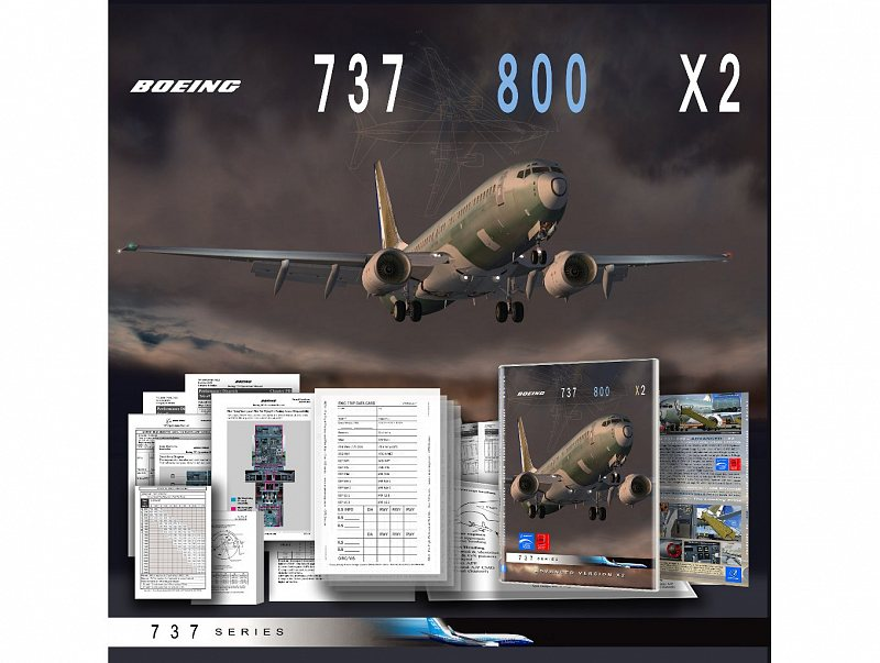 Advanced Boeing 737-800 X2 Simulation FSX