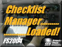 SEA Checklist Manager for FS2004